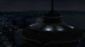 El Space Needle de Seattle en ruinas o: